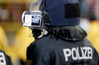 Fanüberwachung der Polizei