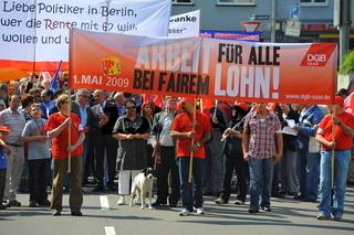 1 Mai Demo in Saarbrücken