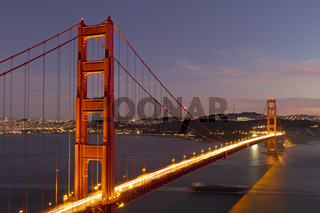 Golden Gate Bridge Kalifornien, USA