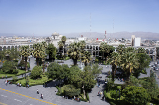 Arequipa, Plaza de Armas, Peru