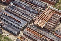 Steel girder beams