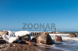 Die Ostseeküste im Winter