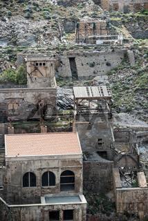 Ehemaliges Bergwerk Argentiera bei Alghero, Sardinien