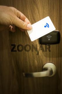 keyless door unlock