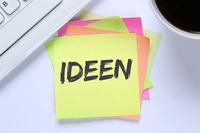 Ideen Idee Kreativität kreativ Erfolg Wachstum Schreibtisch
