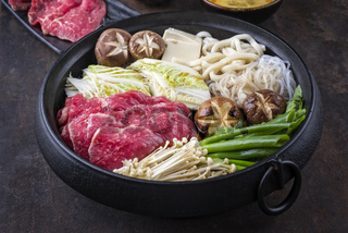 japanese sukiyaki hot pot