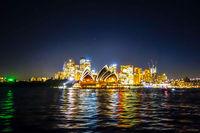 Sydney at night, Australia