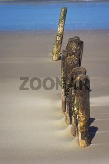 Alte Holzbuhnen