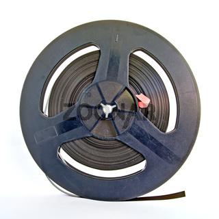 aging tape reel