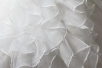 Wedding dress detail - close-up photo