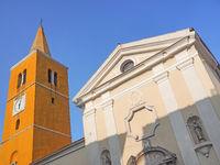 Pfarrkirche St. Georg in der Altstadt von Lovran, Kroatien