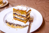 Traditional Slovenian cake with layers