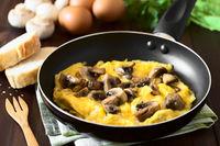 Omelette with Mushroom