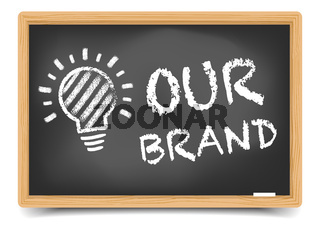 Blackboard Our Brand