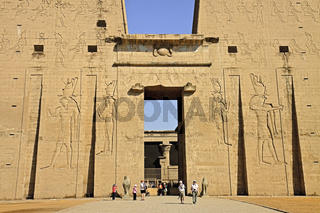 Egypt Edfu Temple Of Horus