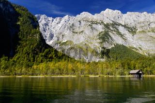 Das Watzmannmasiv im Nationalpark Berchtesgaden, Germany