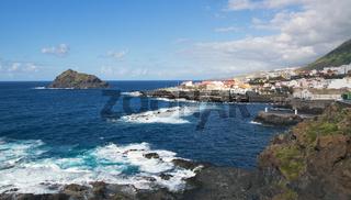 Garachico, Tenerife island, Spain