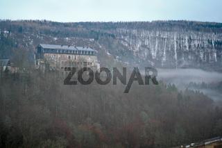 Blick auf Schloss Schwarzburg