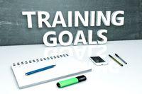 Training Goals text concept