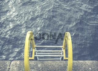 Yellow Ocean Ladder