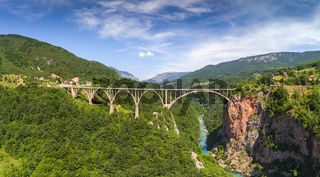 Djurdjevica Tara Bridge in Montenegro