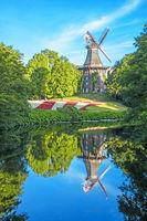 Herdentorswallmühle in Bremen, Deutschland