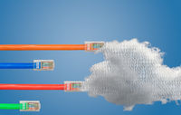 Cloud computing and ethernet cables in Net Neutrality image
