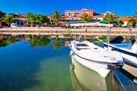 Adriatic village of Bibinje colorful waterfront view