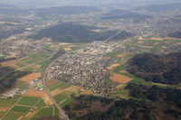 Hunzenschwil Kanton Aargau Schweiz Gemeinde Luftbild