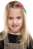 Kind Mädchen Portrait Porträt lachen isoliert Freisteller freigestellt