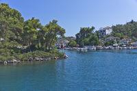 Paxos Island, Port View, Greece