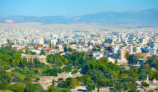 Central part of Athens