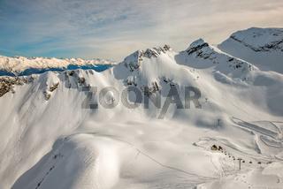 Ski resort in Sochi, Russia