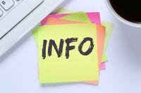 Info Infos Information Informationen News Nachrichten Schreibtisch