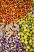 LAOS LUANG PRABANG MARKET FOOD