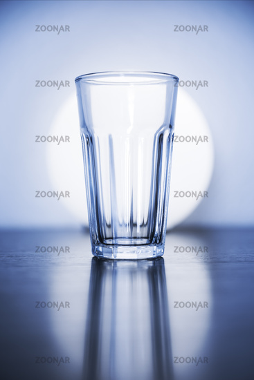 typical empty glass