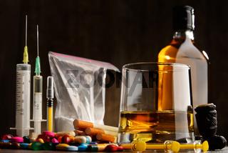 Variety of addictive substances