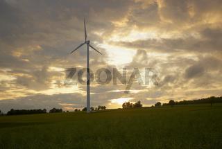 Windenergie-Gewinnung