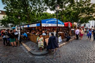 Place du Tertre in Montmartre, Paris, France