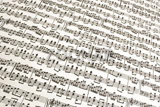 Musiknoten / music notes
