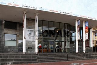 Nelson Mandela Gateway in Kapstadt, Südafrika, Nelson Mandela Gateway of Cape Town, South Africa