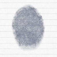 typical finger print