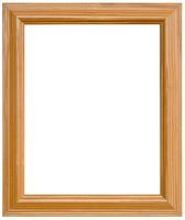 Pine Picture Frame Cutout
