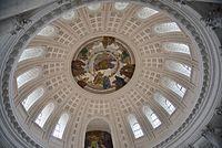 Domkuppel St. Blasien von Innen