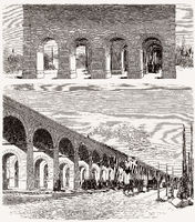 La porte du Point-du-Jour, Paris, France, 19th century
