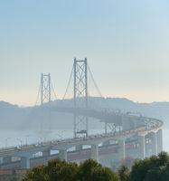 Lisbon 25 April bridge, Portugal