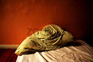 Schlecht geschlafen