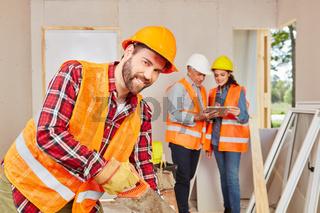 Handwerker als Zimmermann