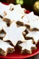 German Zimtsterne Christmas Cookies