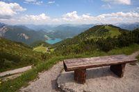 Blick über die Berge